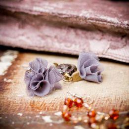 UDA Pendientes lila (2)